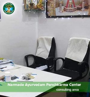 Ayurved Consultation Area Ujjain