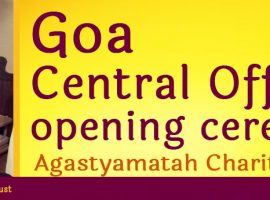 AMCT Central Office Goa Opening Ceremony