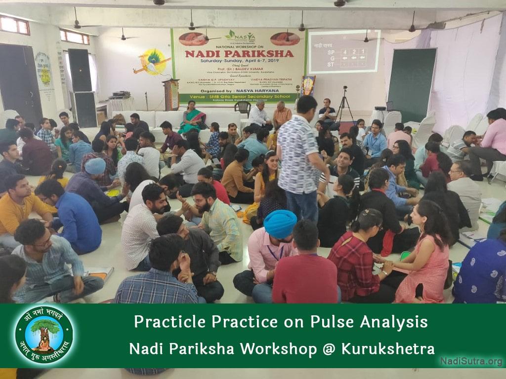 Nadi Vigyan Camp Doctors as Student Improving Knowledge