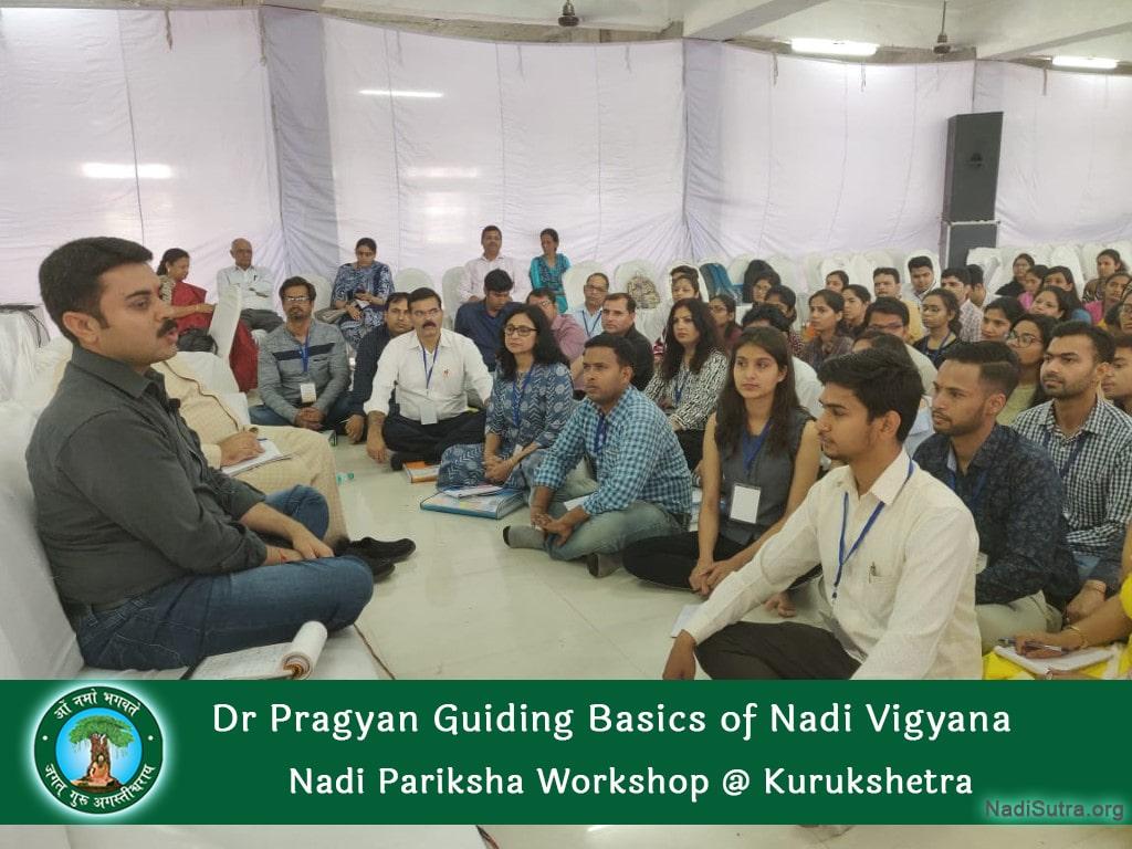 Dr Pragyan Guiding Basics of Nadi Vigyan