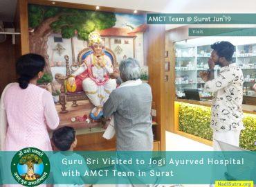 AMCT's Visit to Jogi Ayurved Hospital Surat 2019
