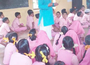 AMCT's Herbs Awareness Camp to Ramakrishnan School Orumanayur Kerala
