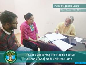 Goa - Health Consultation - Nadi Parikshan