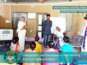 Nadi Vigyan Learning Camp At Aum Aryagram