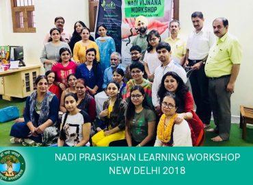AMCT's Nadi Vigyan Learning Camp New Delhi 2018