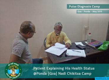 Nadi Parikshan Consultation at Ponda Goa